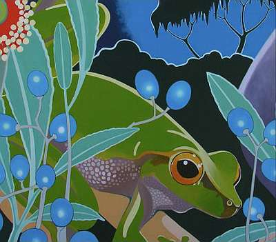 Cascade Tree Frog Fine Art Prints