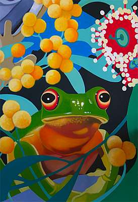 Red-eyed Tree Frog Fine Art Prints